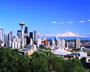 Seattle Skyline Summer
